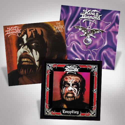 King Diamond LP Bundle Set 2
