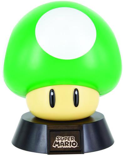 Super Mario 1-Up Mushroom Icon Light - Super Mario 1-UP Mushroom Icon Light