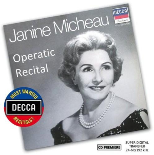 Most Wanted Recitals: Janine Micheau - Operatic