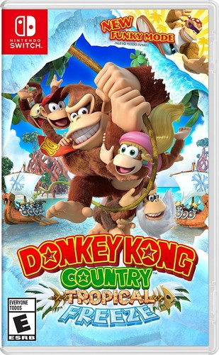 Swi Donkey Kong Country: Tropical Freeze - Donkey Kong Country: Tropical Freeze for Nintendo Switch