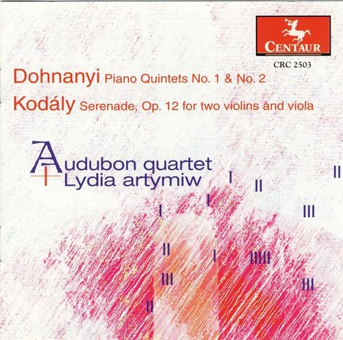 Piano Quintets 1 & 2 /  Serenade Op 12