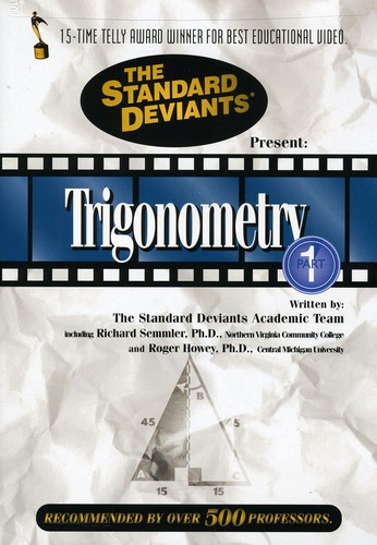 Standard Deviants: Trigonometry, Vol. 1