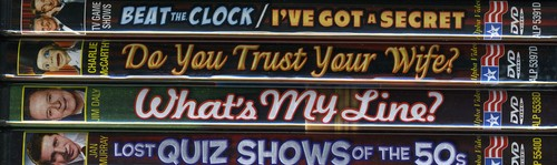 TV Game Shows of the 50s