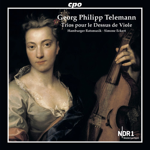 Telemann: Trios pour le Dessus de Viole