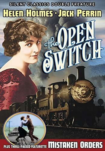 Silent Classics Double Feature: The Open Switch /  Mistaken Orders(Silent)