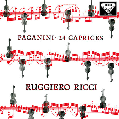 Paganini: 24 Caprices Op. 1