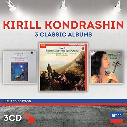 Kyril Kondrashin: Three Classic Albums