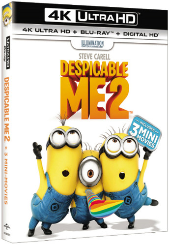 Despicable Me 2 [UltraViolet] [4K Ultra HD Blu-ray] [2 Discs]