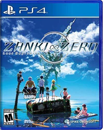 - Zanki Zero: Last Beginning for PlayStation 4