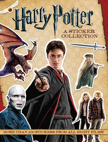 Harry Potter A Sticker Collection Collectibles On Deepdiscount