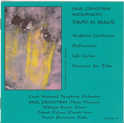Orchestral Music of David N Baker