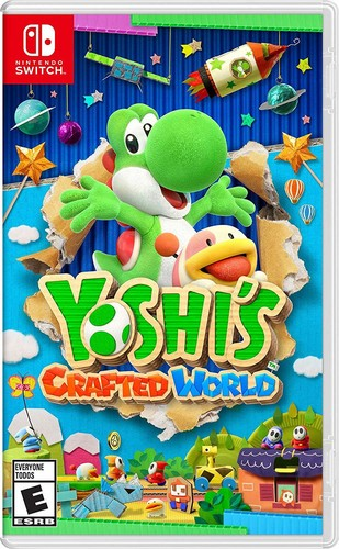 Swi Yoshi's Crafted World - Yoshi's Crafted World