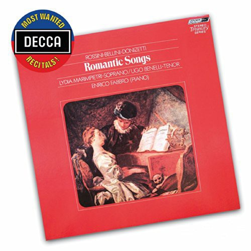Most Wanted Recitals: Romantic Songs By Rossini