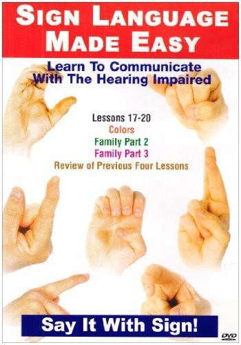 Sign Language Series 17-20