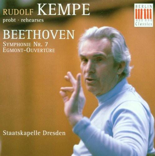 Rehearses Beethoven's Symphony #7