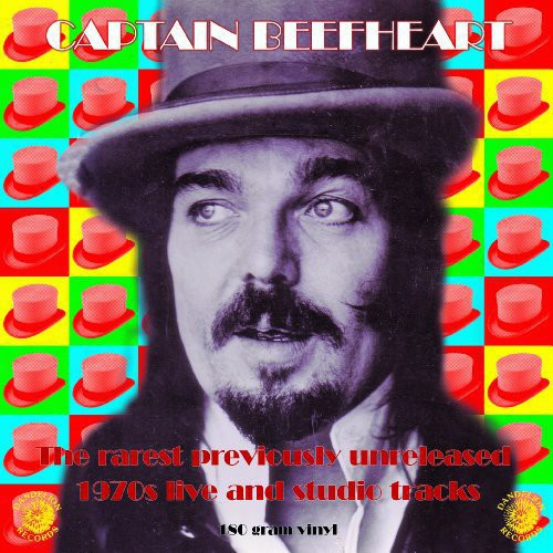 Captain Beefheart : Rarest Previously Unreleased 1970s Live & Studio T