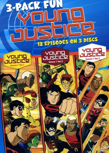 Young Justice: Season 1: Volume 1-3