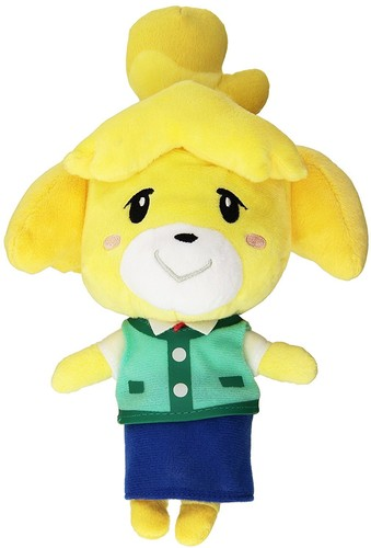 "- Little Buddy Animal Crossing Isabelle 8"" Plush"