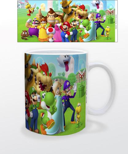 Super Mario Mushroom Kingdom 11 Oz Mug - Super Mario Mushroom Kingdom 11 oz mug