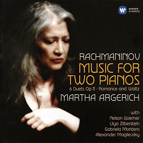 Martha Argerich - Rachmaninov: Music for Two Pianos