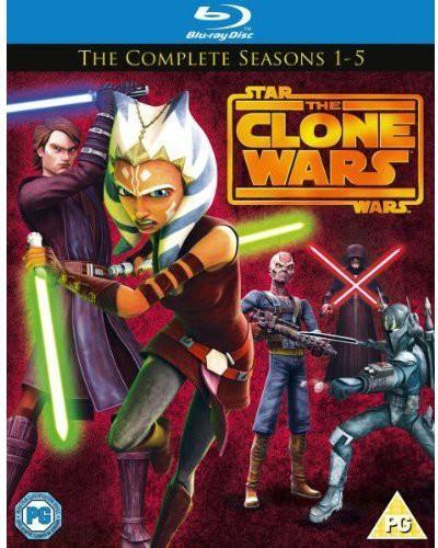 Star Wars-Clone Wars: Season 1-5 [Import]