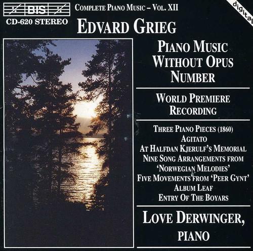 World Premiere Recording /  Piano Music