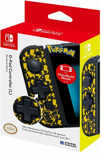 - HORI D-Pad Controller (L) - Pikachu Edition for Nintendo Switch