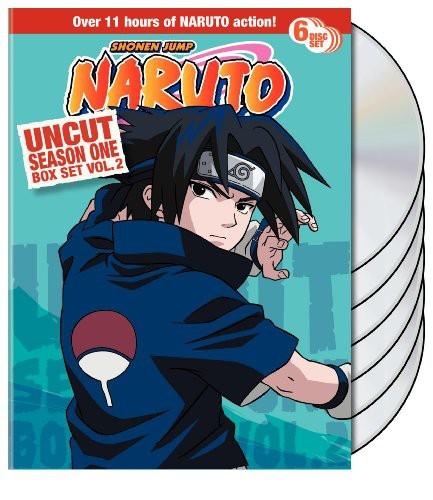 Naruto Uncut Season 1: Volume 2 Box Set