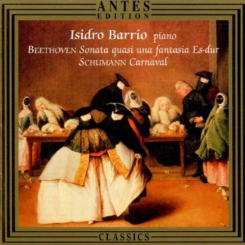 Barrio Plays Schumann & Beethoven