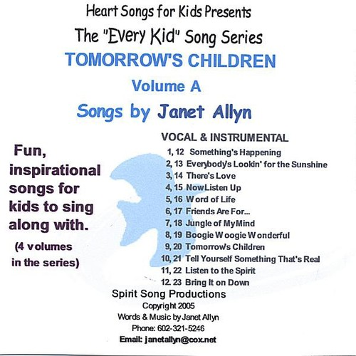 Every Kid Song Series: Tomorrows Children a