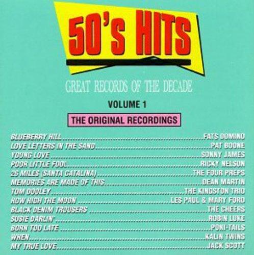 50's Pop Hits 1 /  Various