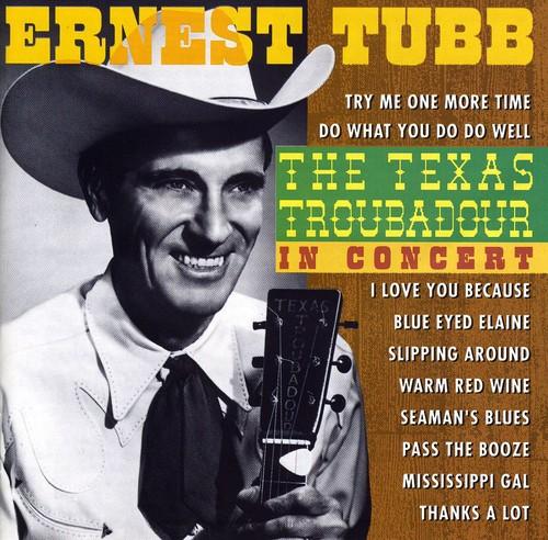 Texas Troubadour: In Concert [Import]