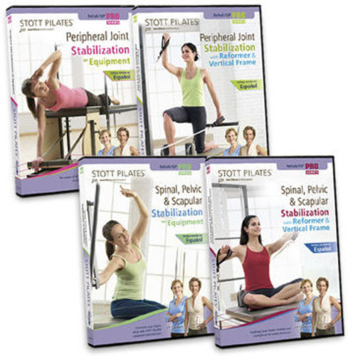 Stott Pilates: Isp /  Rehab Series (4 DVDs)