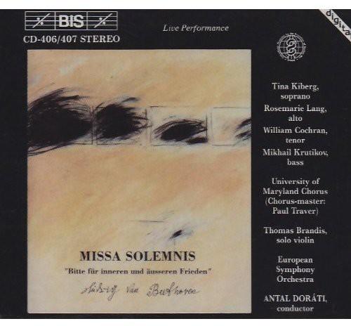 Missa Solemnis Soloists