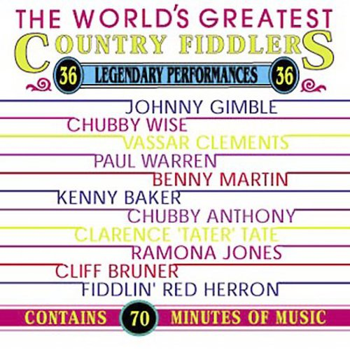 World's Greatest Country Fiddlers /  Various