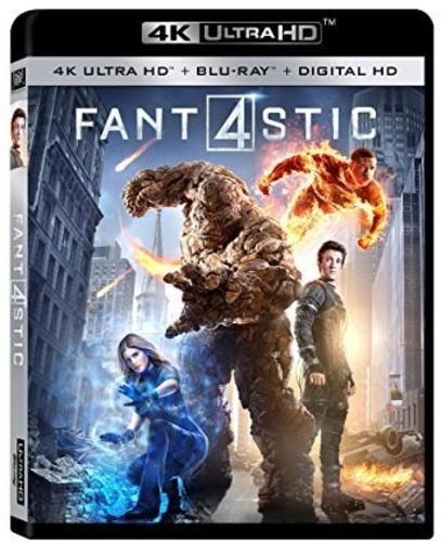 Fantastic Four [4K Ultra HD Blu-ray/Blu-ray]