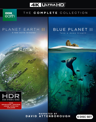 Planet Earth II/ Blue Planet II