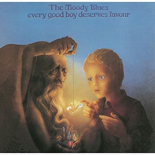 The Moody Blues - Every Good Boy Deserves Favour (Jmlp) (Jpn) (Pshm)