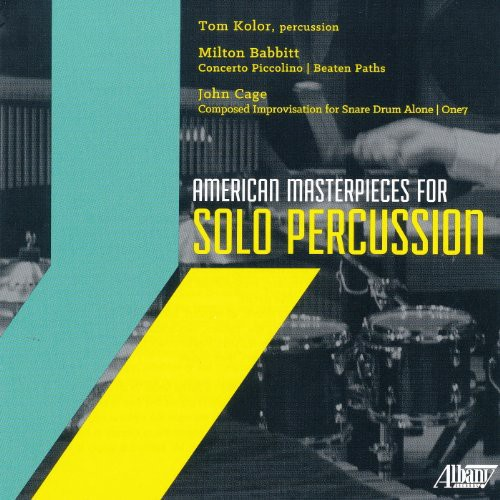 American Masterpieces for Solo Percussion