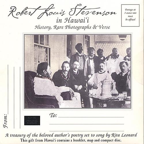 Robert Louis Stevenson in HawaII-History Rare Phot