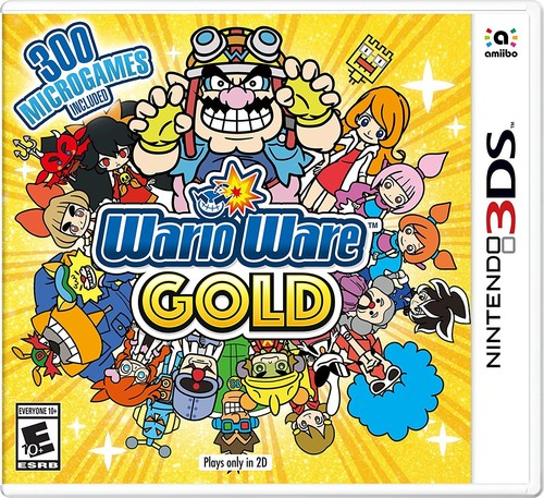 3Ds Warioware Gold - Warioware Gold for Nintendo 3DS