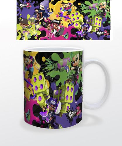 Splatoon 2 Splat Attack 11 Oz Mug - Splatoon 2 Splat Attack 11 oz mug