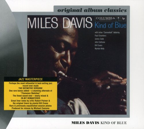 Miles Davis-Kind of Blue  (REMASTERED + BONUS TRACK)