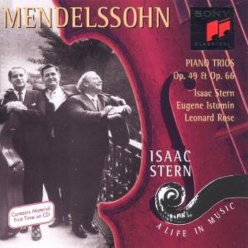 Mendelssohn / Isaac Stern  / Rose,Leonard - Mendelssohn: Piano Trios Op 49 & Op 66