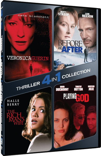 4 in 1 Thriller Collection: Before  and After /  The Rich Man's Wife /  Playing God /  Veronica Guerin