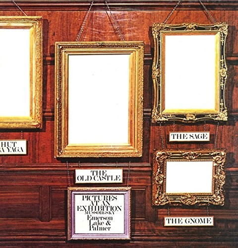 Emerson, Lake & Palmer - Pictures At An Exhibition (Uk)