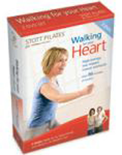 Stott Pilates: Walking for Your Heart 2 DVD Set, Eng /  Fr
