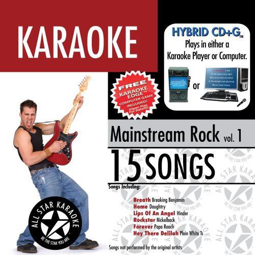 Karaoke: Mainstream Rock, Vol. 1