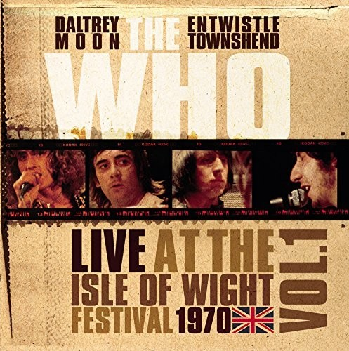 The Who - Live At The Isle Of Wight Vol 1 [Import LP]