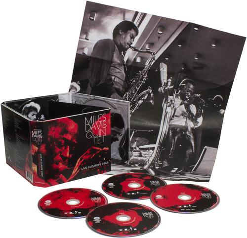 Miles Davis-Live In Europe 1969: The Bootleg Series, Vol. 2 [3CD/1DVD]